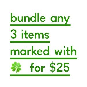 3 items for $25!!!